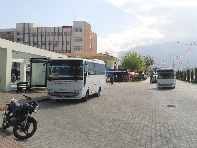 Bus from Antalya to Belek