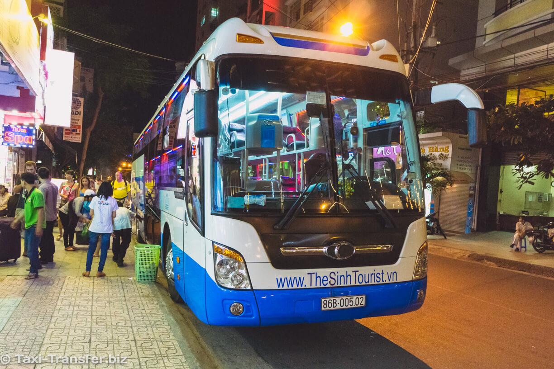 Sleep Bus from Ho Chi Minh to Nha Trang