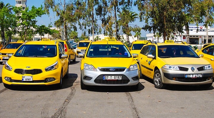 Taxi from Antalya to Belek - cab booking