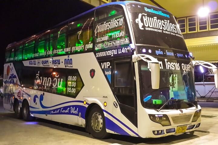 Bus from Bangkok to Samui