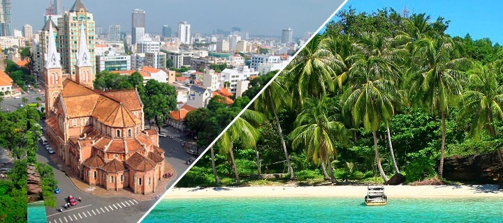 Transfer from Ho Chi Minh to Phu Quoc - flights, bus & boat