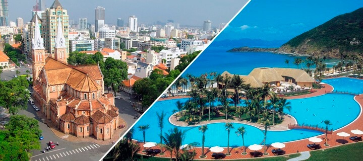 How to get from Ho Chi Minh to Nha Trang: bus, plain, train or taxi