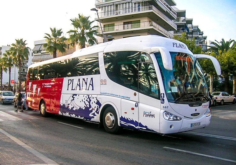 Bus from Barcelona to Salou