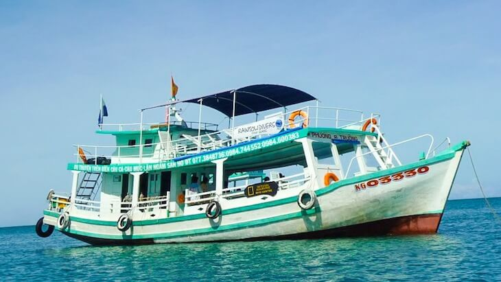 Boat from Ho Chi Minh to Phu Quoc