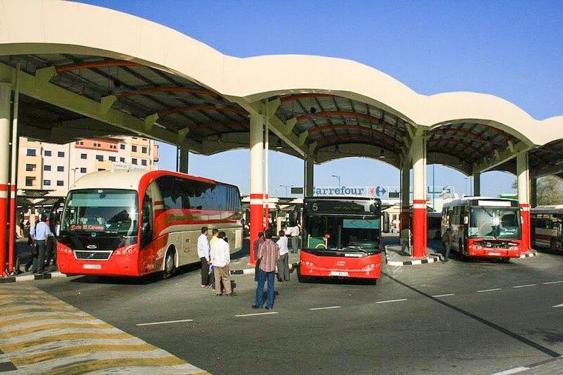 Bus from Dubai to Abu Dhabi