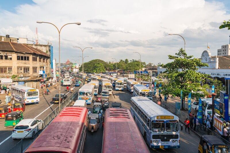 Поезд из Коломбо в Хиккадуву