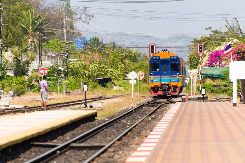 Hua Hin - Bangkok train