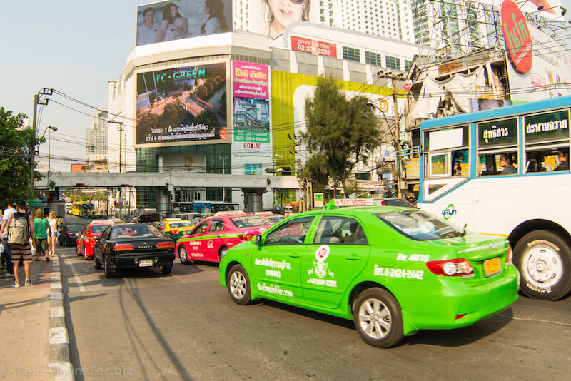 Booking Taxi Bangkok from Suvarnabhumi