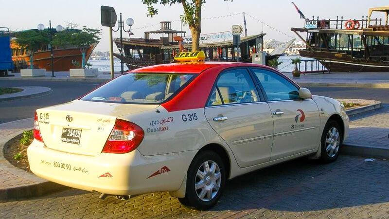 сколько стоит такси из аэропорта Дубай