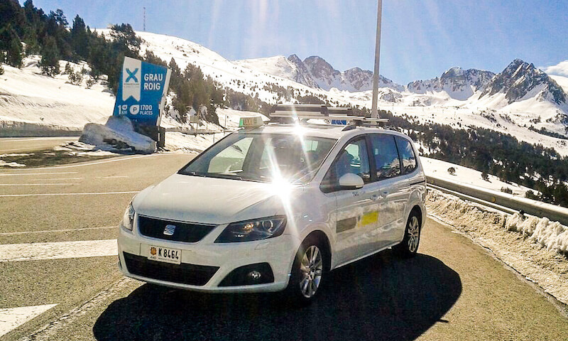 Taxi from Barcelona to Encamp