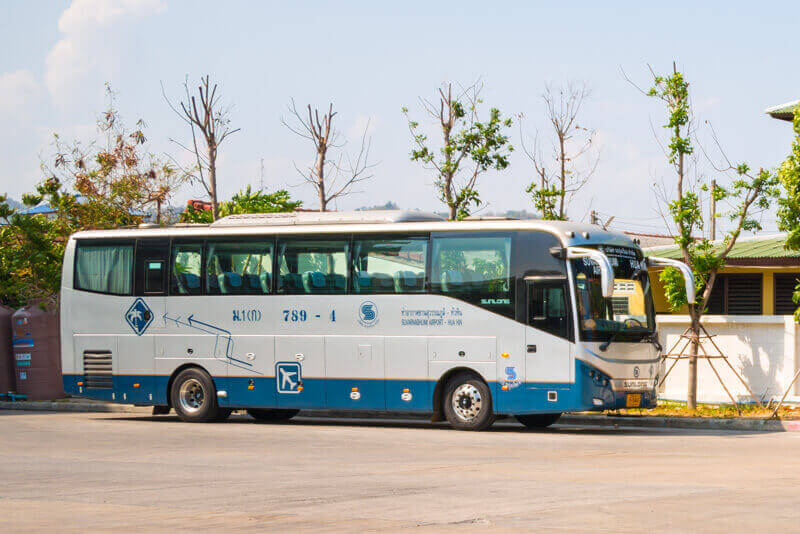 Bus from Bangkok to Hua Hin