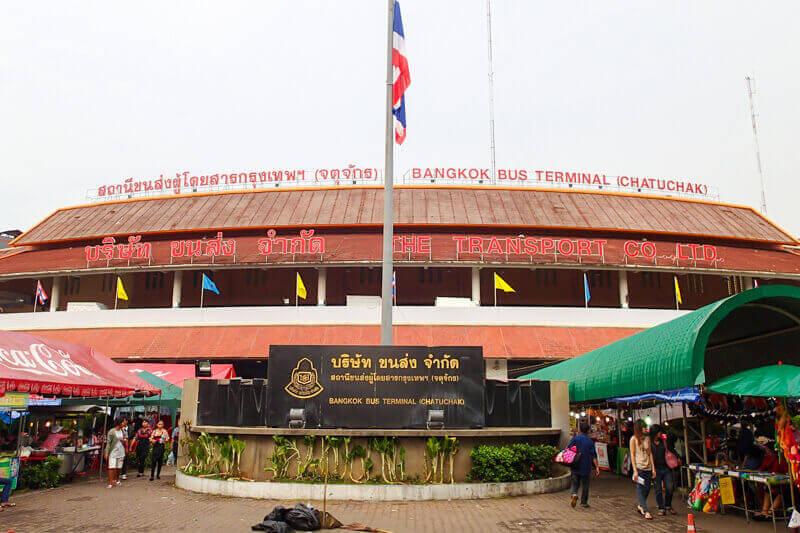 North bus station in Bangkok