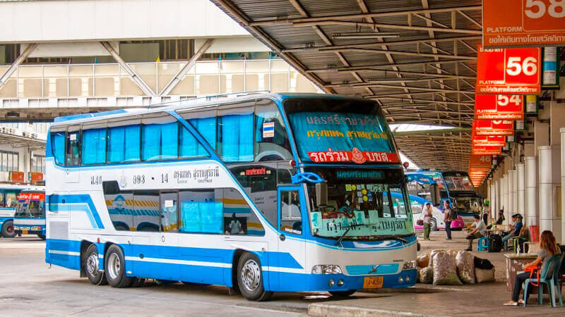 Bus from Southern bus station in Bangkok to Hua Hin
