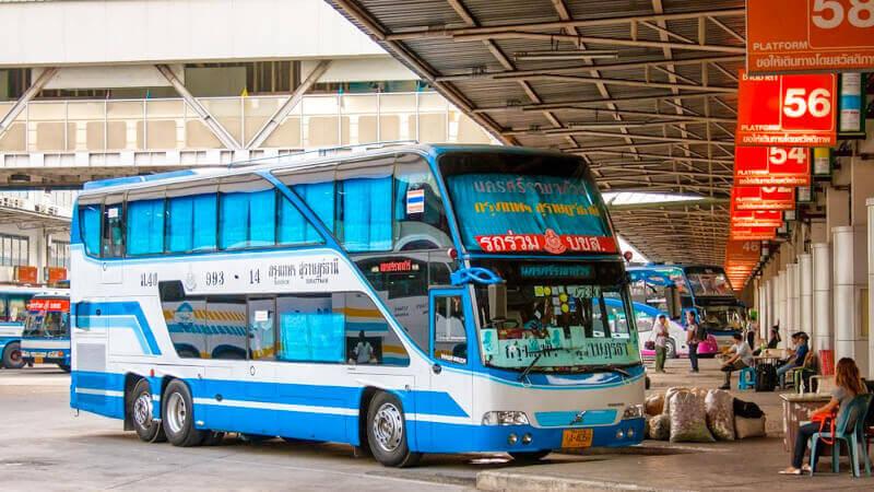 Bus from Southern bus station in Bangkok to Hua Hin