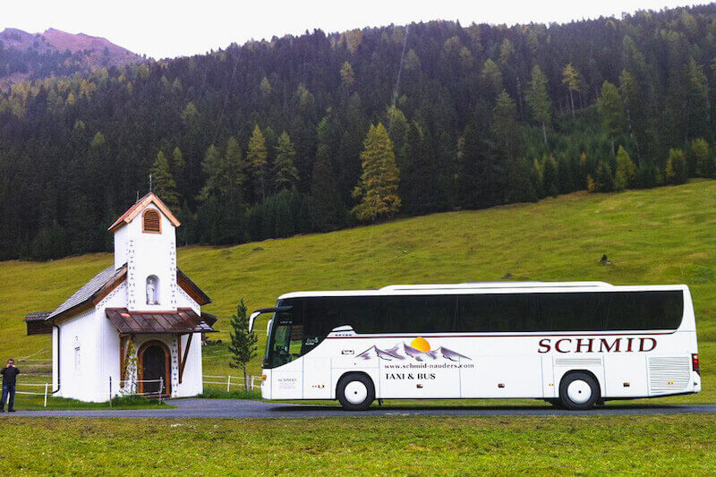 Bus from Munich to Ischgl