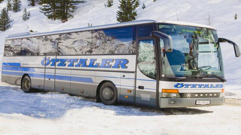 Bus to Serfaus (Zerfaus)