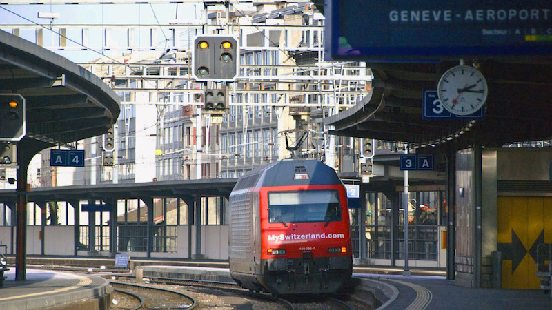 Train from Geneva Airport to Courchevel