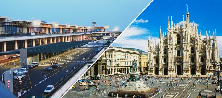 How you can get from Malpensa airport to Milan