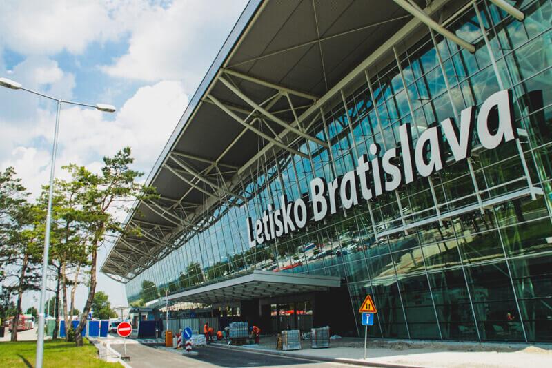 Airport in Bratislava