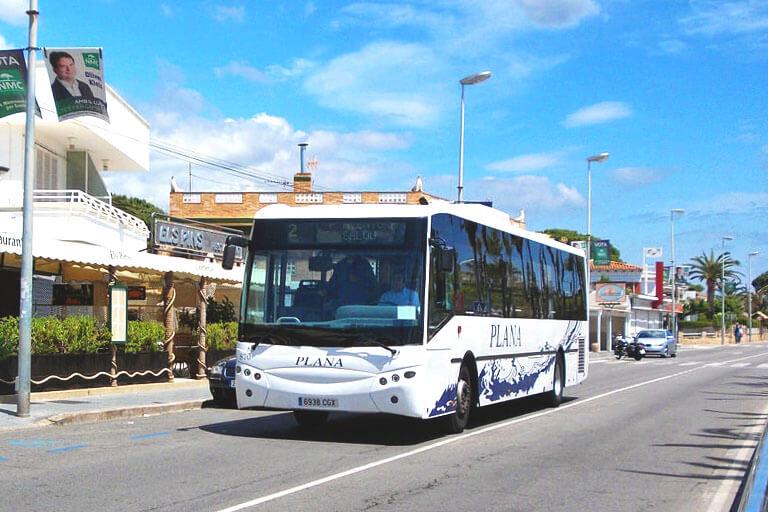 Автобус из Барселоны в Камбрильс