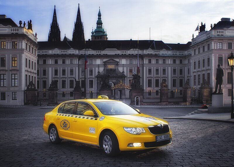 Taxi from Prague to Marianske Lazne