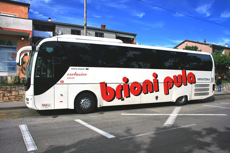 Bus from Pula to Porec