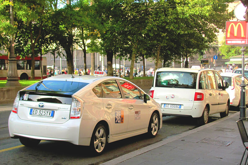 Taxi from Airport Fiumicino to Rome