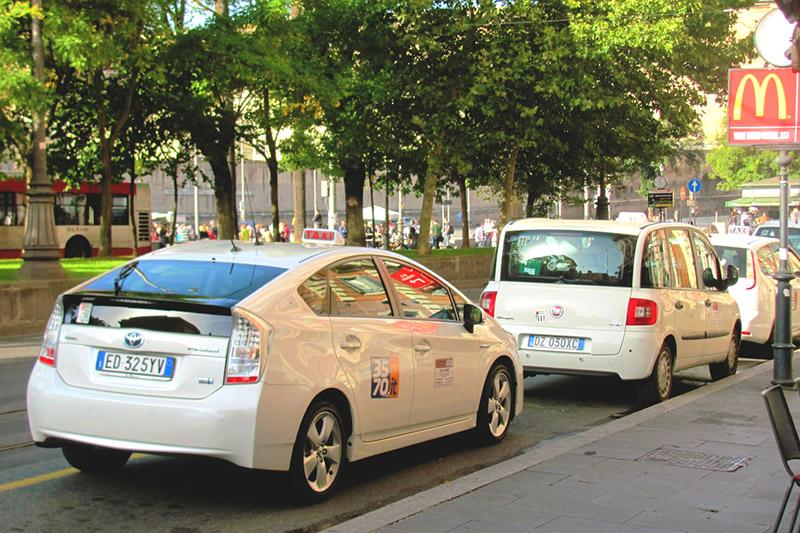 Такси из аэропорта Фьюмичино в Рим