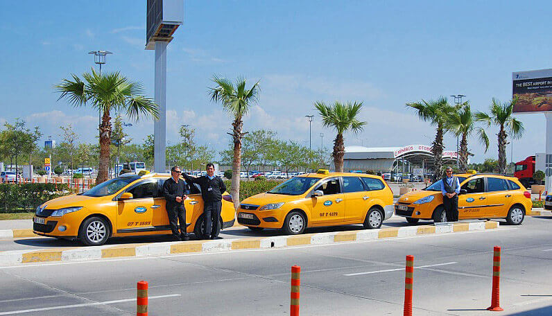 Taxi from Antalya to Tekirova