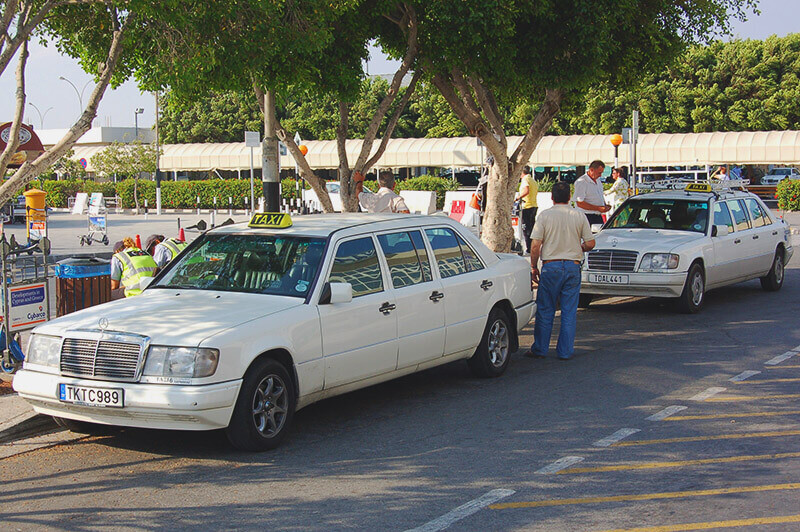 Taxi from Larnaca to Paphos