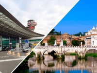 Transfer from Fiumicino Airport to Rome