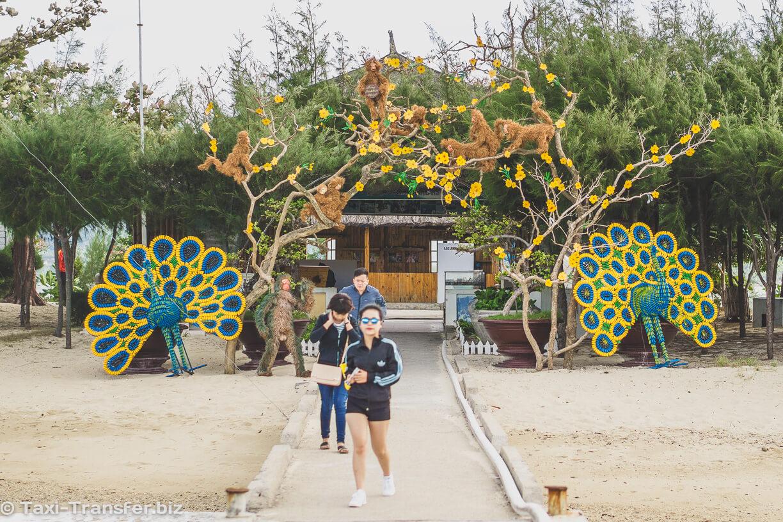 Вход на остров Hon Lao