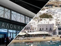 How to get from Thessaloniki airport to Halkidiki