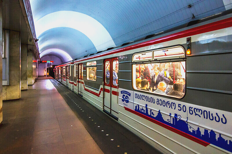 Metro Station in Tbilisi