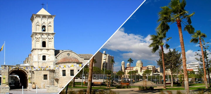 How to get from Larnaca to Limassol