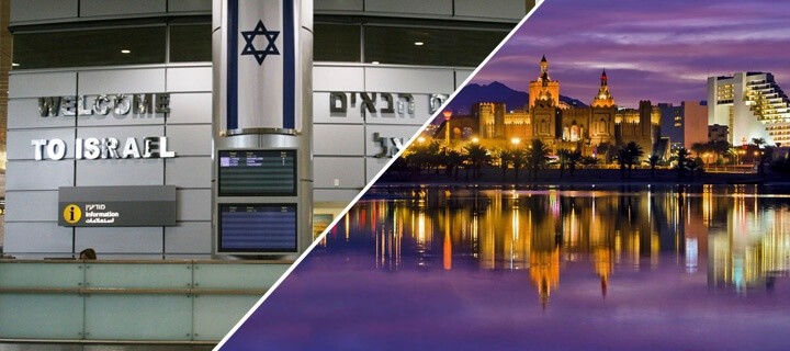 How to get from Tel Aviv to Eilat