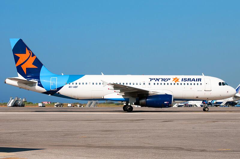 Israir - самолет из Тель-Авива в Эйлат
