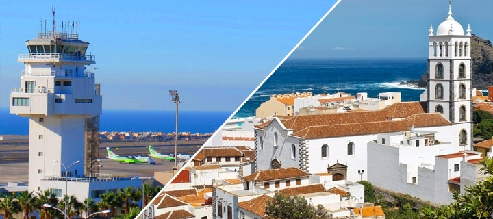 Transfer to Tenerife from any airport