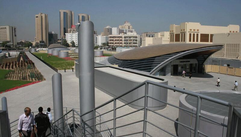 Станция метро Union в Дубаи