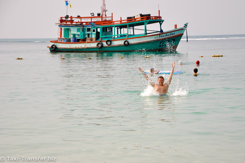 Ferry boat to Samet from Pattaya how to get