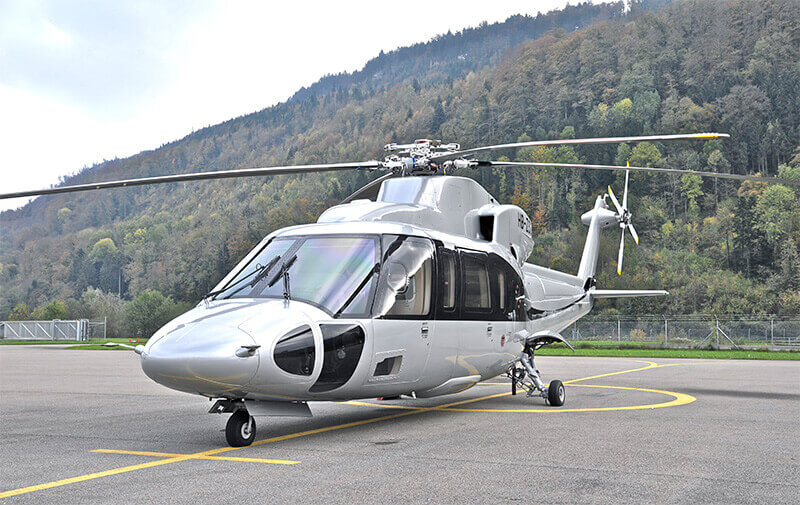 Helicopter from Geneva to Val Thorens