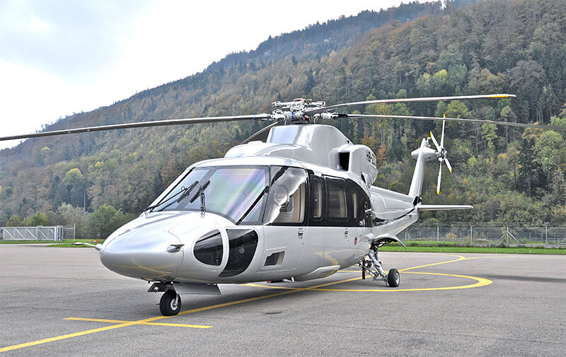 Заказ вертолета в Женеве