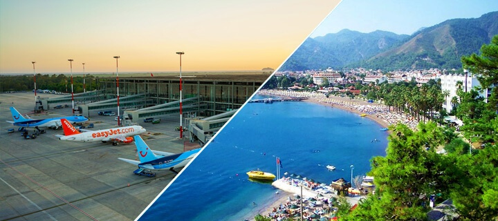 How to get from Dalaman Airport to Marmaris