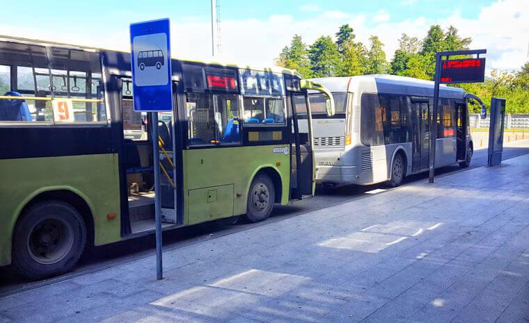 From Batumi to Kobuleti by bus