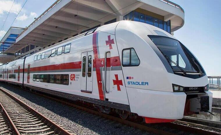 From Batumi to Kobuleti by train