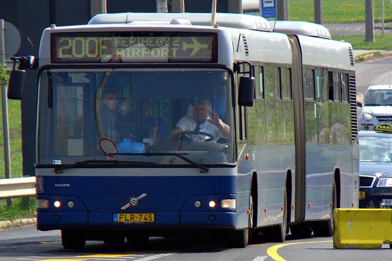Как добраться из аэропорта Будапешта в город на автобусе