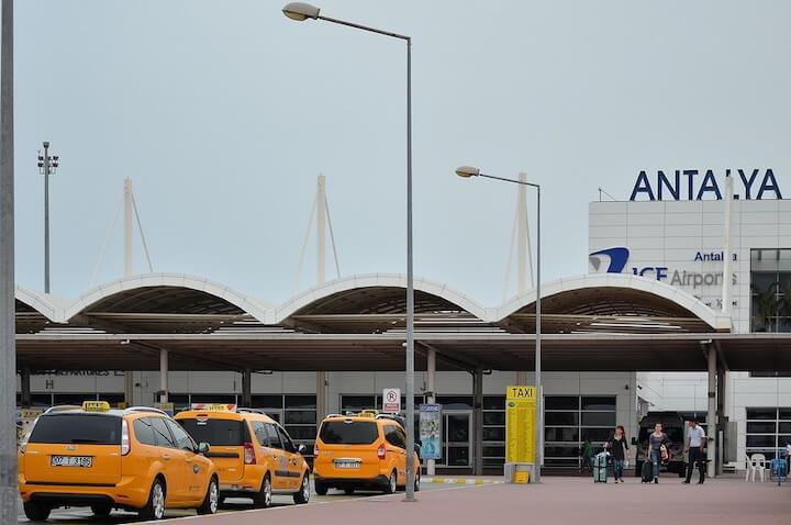 Такси Анталия Кемер из аэропорта