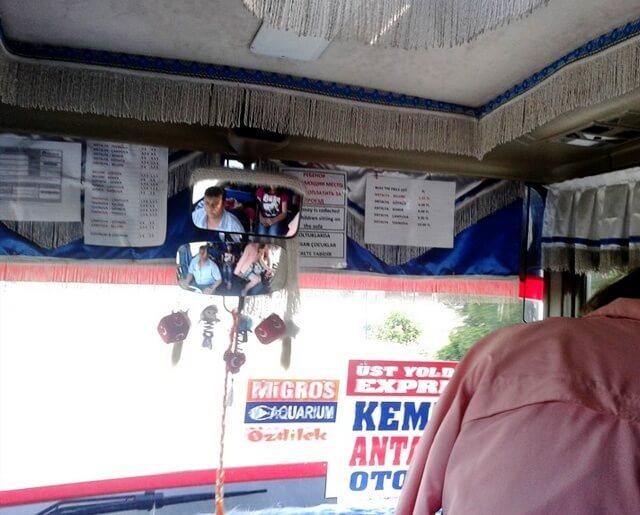 Bus from Antalya to Kemer
