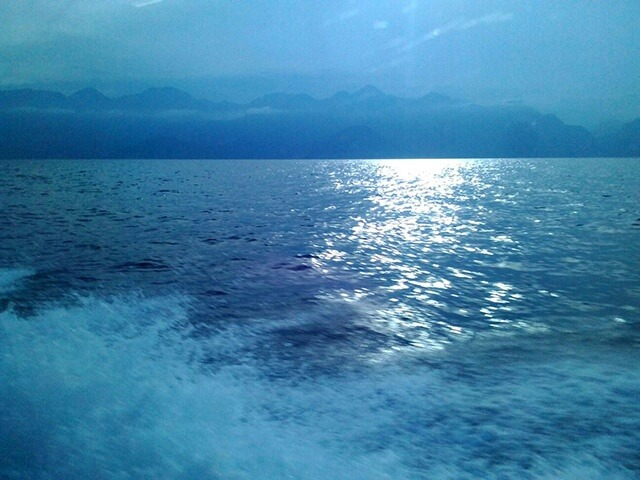From Antalya to Kemer by water