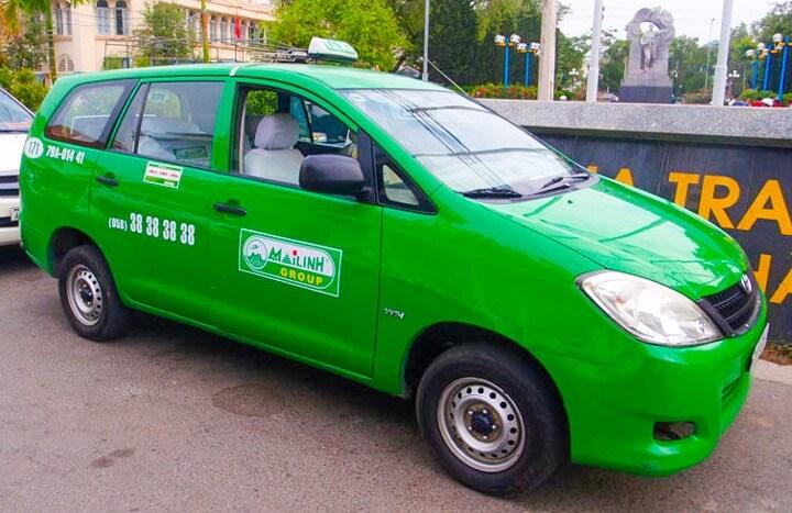 Cab from Ho Chi Minh to Nha Trang
